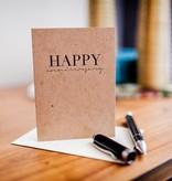 Wrinkle & Crease Greeting Card