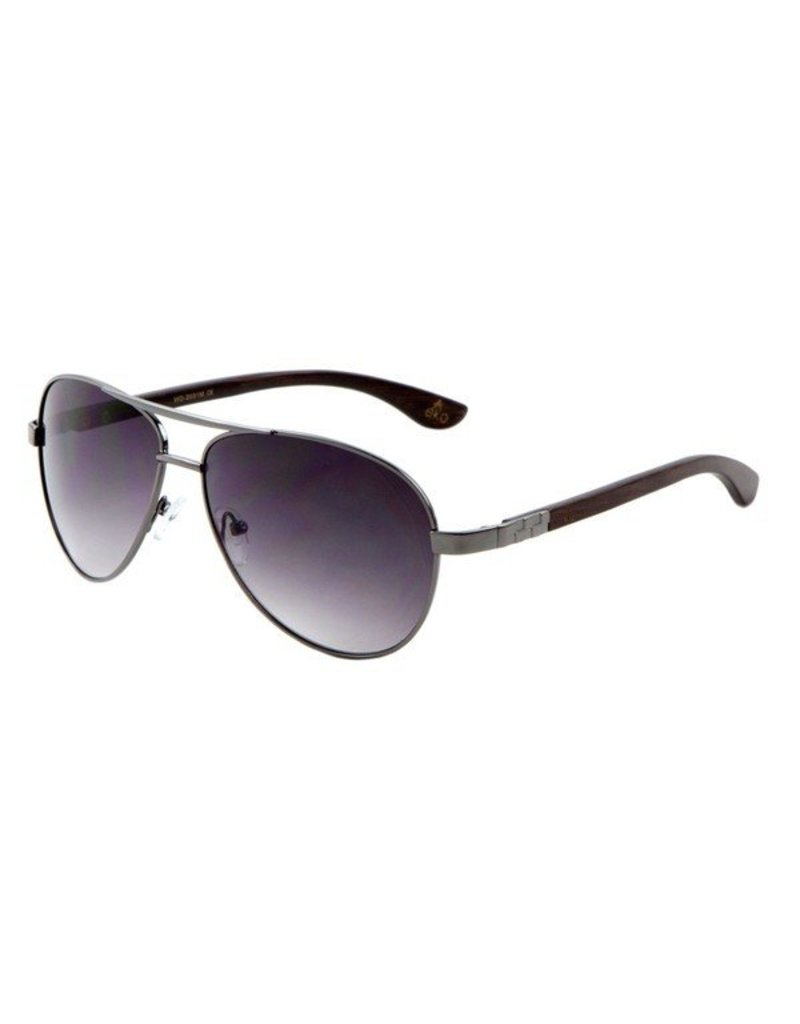 metal aviator sunglasses  EKO Slim Metal Aviator Sunglasses - Woods Grove