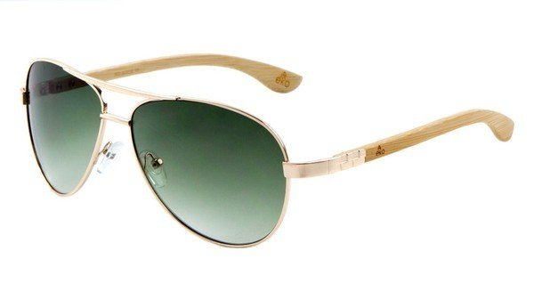EKO Slim Metal Aviator Sunglasses