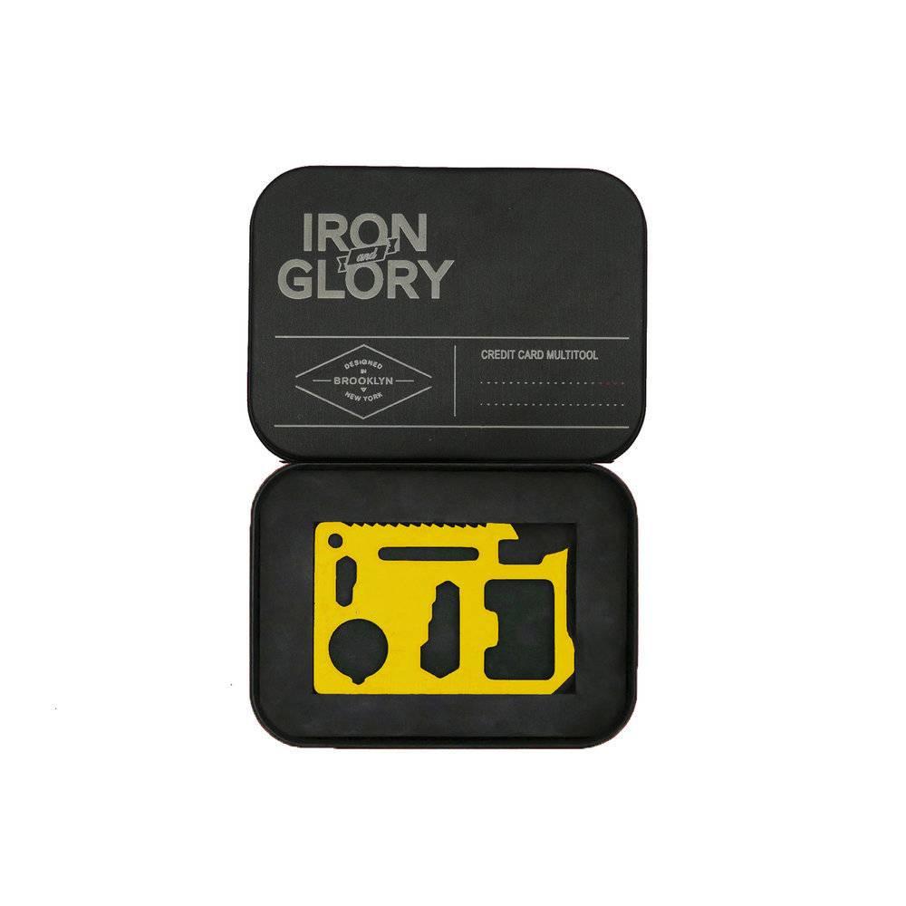 Iron & Glory Iron & Glory Credit Card Multi Tool