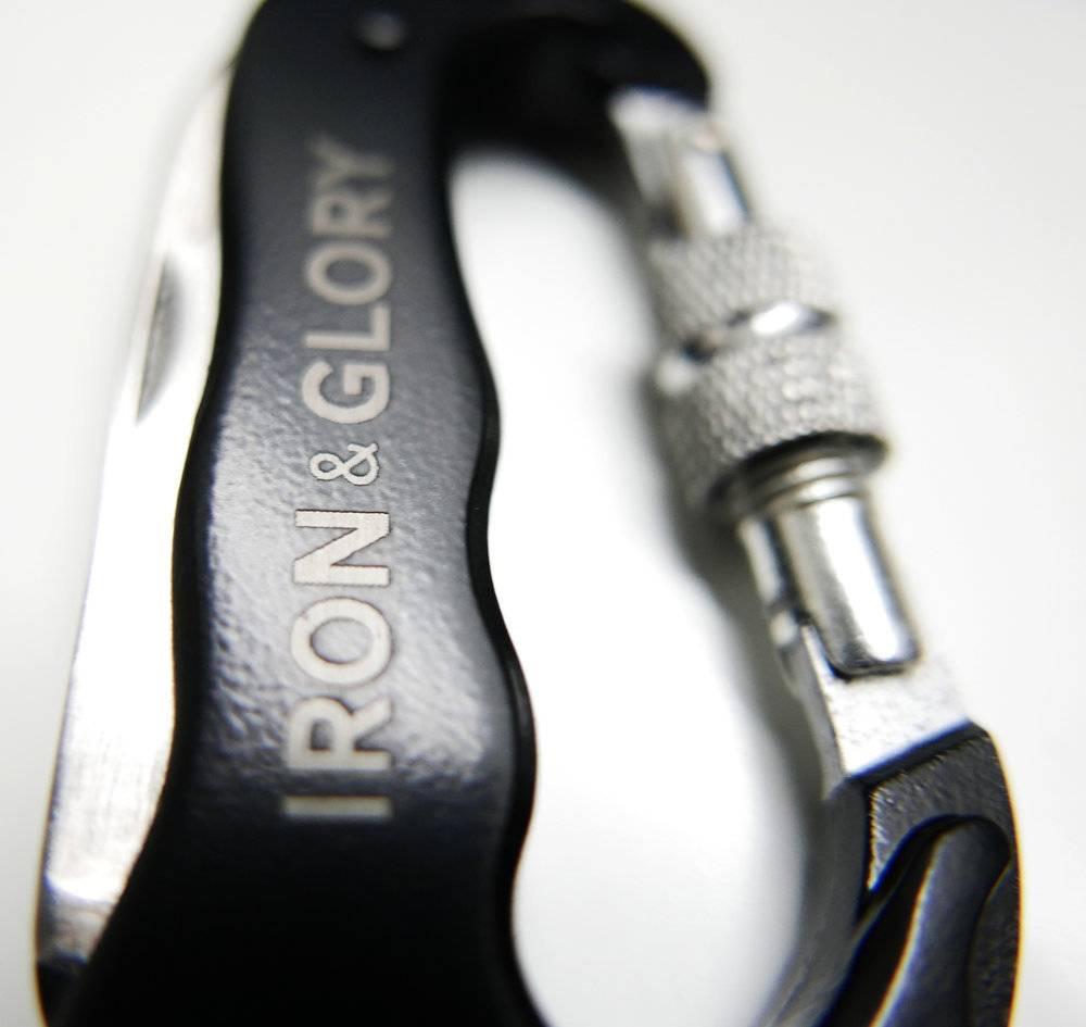 Iron & Glory Iron & Glory Delux Carabiner