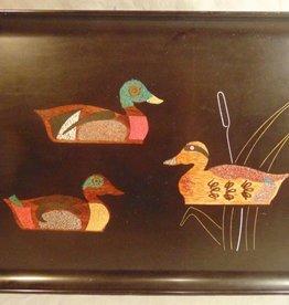 Vintage Couroc of Monterey Duck Tray