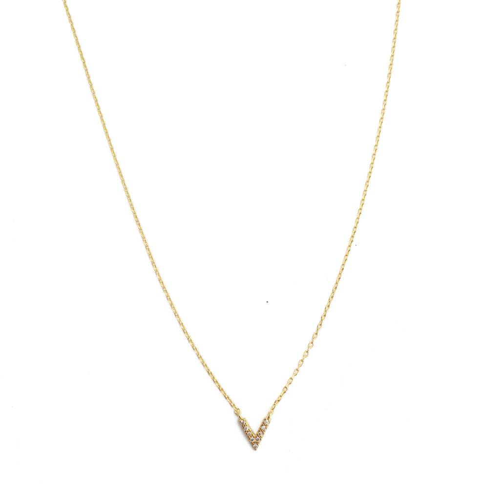 Honeycat Honeycat Vista Crystal Necklace