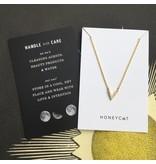 Honeycat Honeycat Vista Crystal Necklace