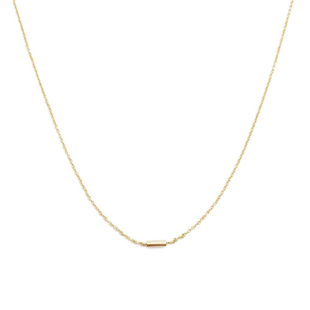 Honeycat Honeycat Pipe Bar Necklace