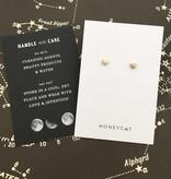 Honeycat Honeycat Mini Heart Stud Earrings - Gold
