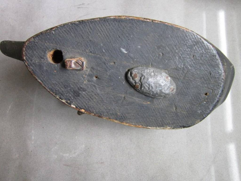 Vintage Carved Wood Duck Decoy