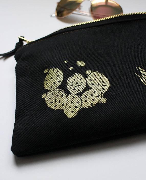 Paula Lukey Paula Lukey Handmade Canvas Pouch