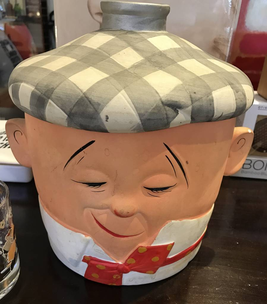 Vintage 1950's Japanese Cookie Jar