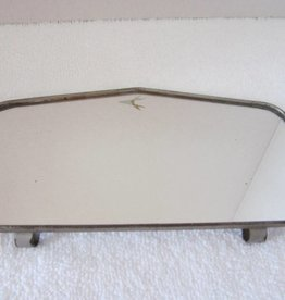 Vintage Clip On Sun Visor Mirror