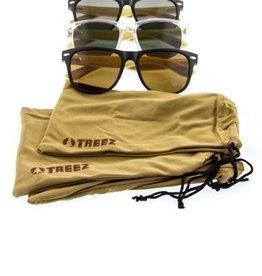 Mens Treez Bamboo Wayfarer Sunglasses