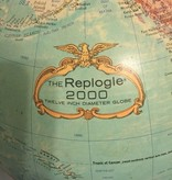 Vintage 1940's Replogle 12 inch diameter Light Up Globe