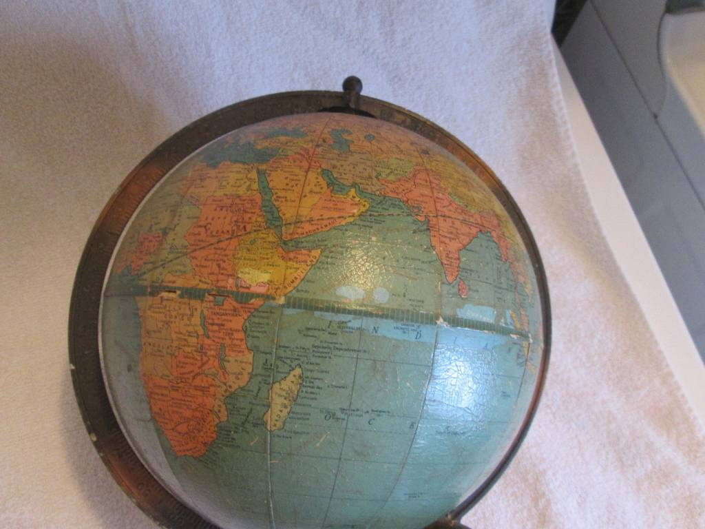 Vintage 8 INCH STANDARD MADE BY REPLOGLE GLOBES