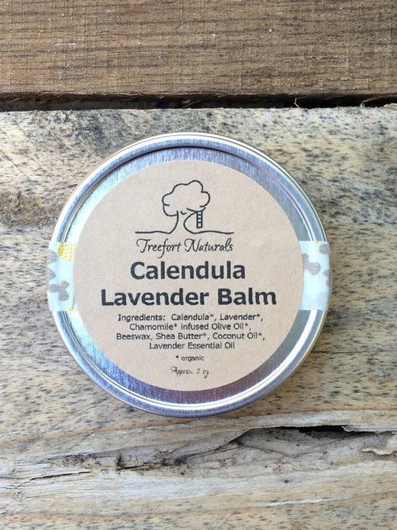 Treefort Naturals Treefort Calendula Lavender Baby Balm