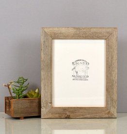 Handmade Reclaimed Cedar Wood Picture Frame