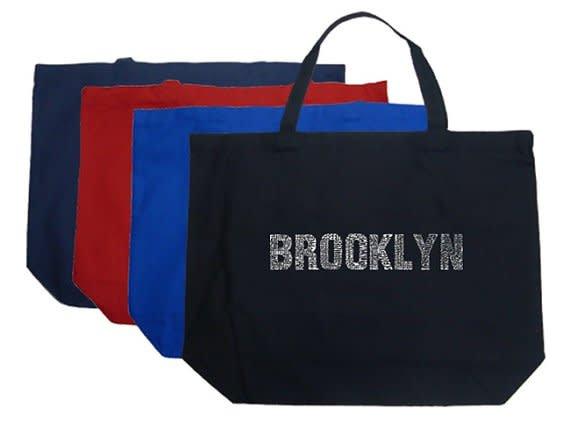 Los Angeles Pop Art Brooklyn Tote Bag