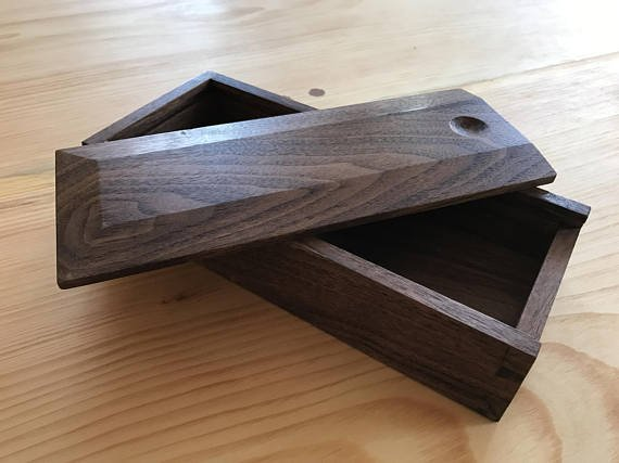 Make Good Wood Make Good Wood Brooklyn Shaker Box - Walnut