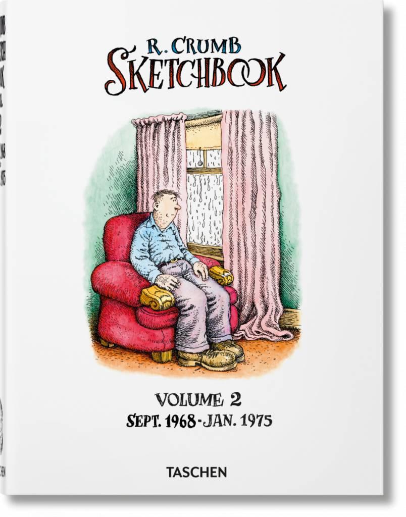 Taschen Taschen Robert Crumb. Sketchbook. Vol. 2: 1968–1975
