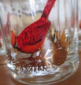 Vintage Couroc of Monterey Cardinal Rocks Glass