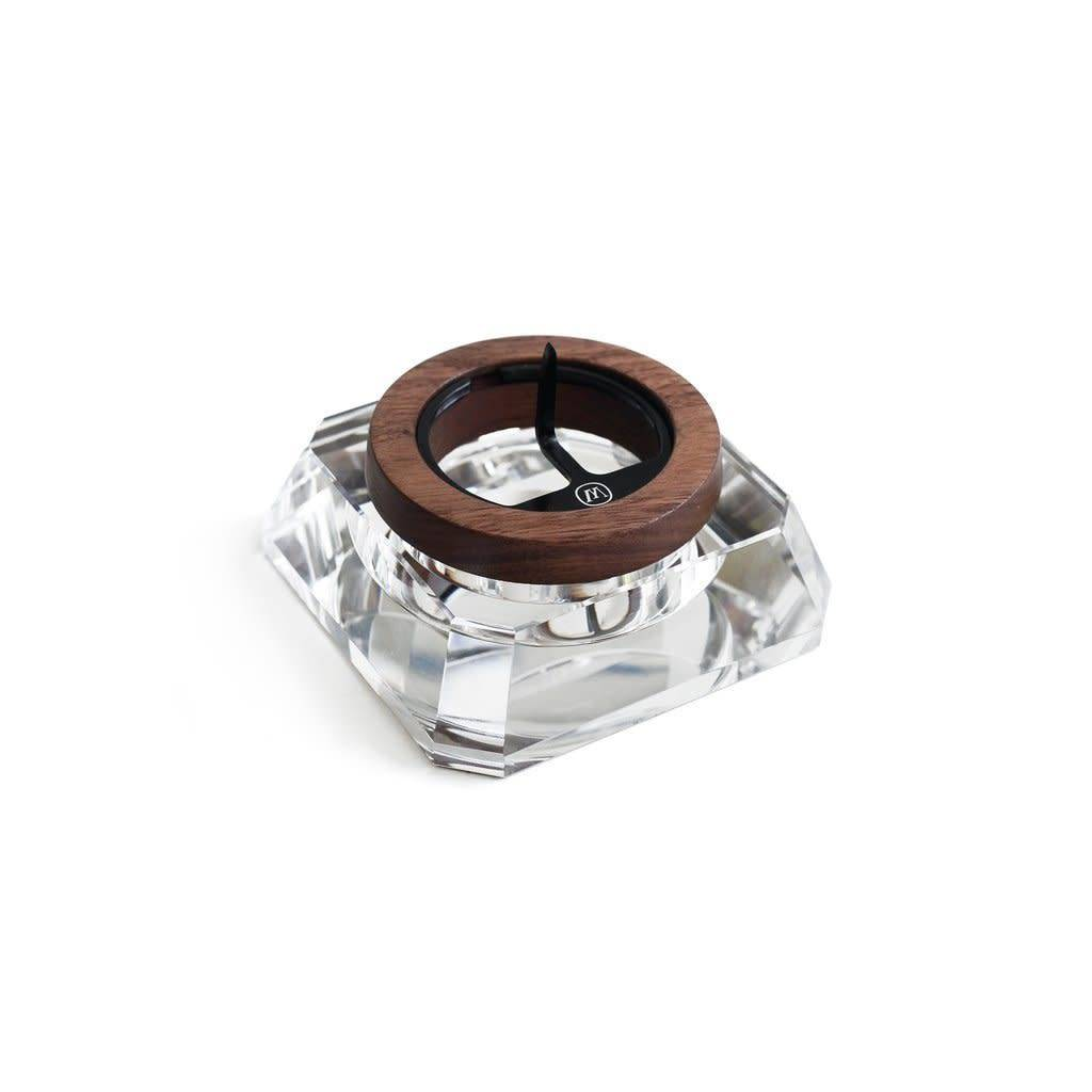 Marley Natural Marley Natural Crystal Ashtray Black Walnut