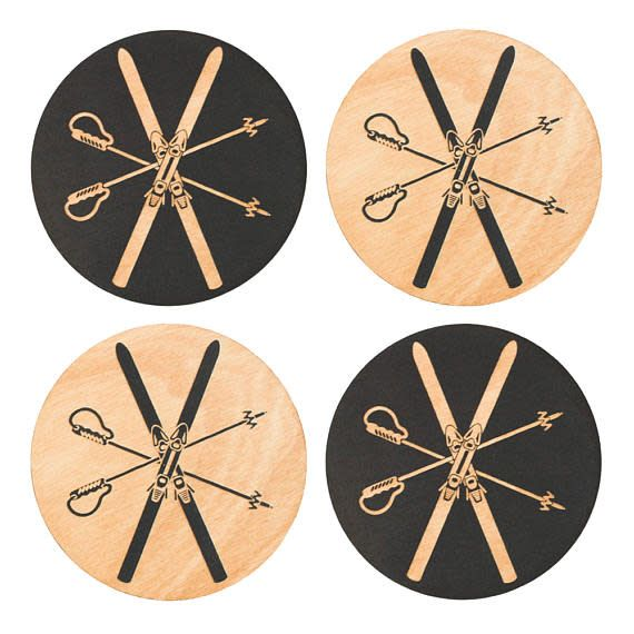 Benoit's Design Co. Benoit's Design Co. Wood Coaster