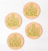 Counter Couture Cork Coaster Set of 4