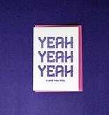 Formidably Impressed Formidably Impressed Greeting Card