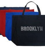 Los Angeles Pop Art Brooklyn Tote Bag
