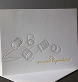Dee & Lala Letterpress Card