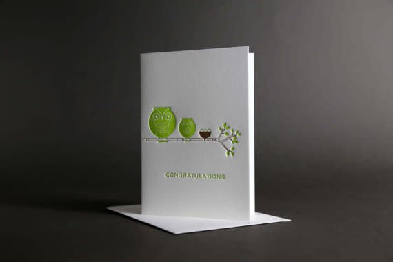 Dee & Lala Letterpress Card