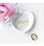Modern Mom Heart Ring Dish