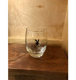 Vintage 1960's Playboy Lowball Glass