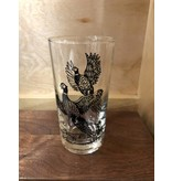 Vintage Pheasant Juice Glass