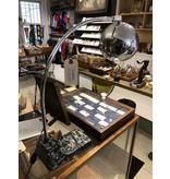 Vintage Faux Marble Arc Desk Lamp