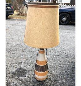 Vintage Raymor(?) Italian Pottery Lamp