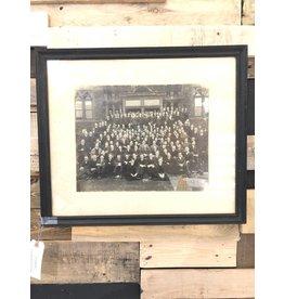 Vintage 1918 Stevens Ins Tech Framed Photo