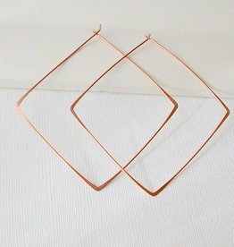 Linda Trent Jewelry Linda Trent Large Square Hoops 14k Gold Filled