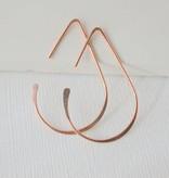 Linda Trent Jewelry Linda Trent Small Teardrop Threader Hoops 14k Gold Filled