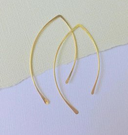 Linda Trent Jewelry Linda Trent Open Hoop 14k Gold Filled