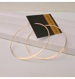 "Linda Trent Jewelry Linda Trent 1.0"" Round Hoop 14k Gold Filled"