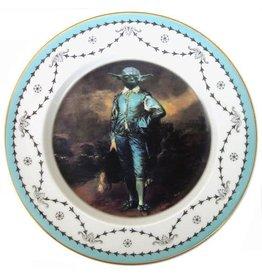 "Beat Up Creations BeatUp Creations Blue Yoda Portrait Plate 10.5"""