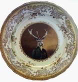 "Charles van Dulce, 8th Duke of Elces Plate 10.75"""