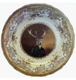 """Beat Up Creations BeatUp Creations Charles van Dulce, 8th Duke of Elces Plate 10.75"""""""