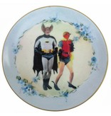 "Batman and Robin Plate 7.75"""