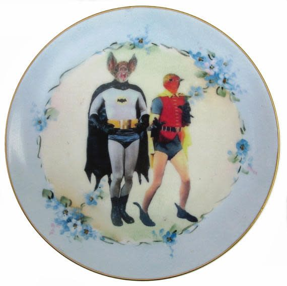 Beat Up Creations BeatUp Creations Batman and Robin Plate 7.75""