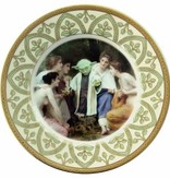 """Yoda and the Nymphs Portrait Plate 9.75"""""""
