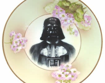 Beat Up Creations BeatUp Creations Darth Portrait Plate 6.15""