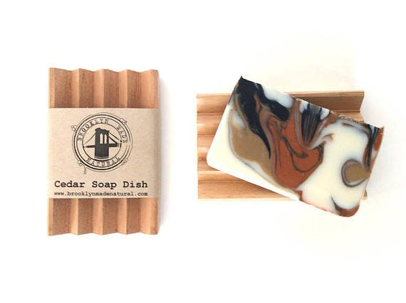 Brooklyn Made Natural Brooklyn Made Cedar Soap Dish