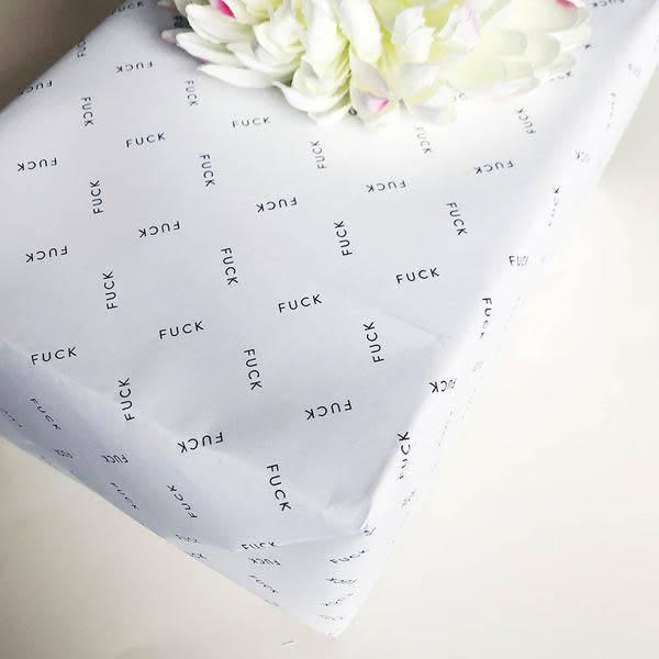Steel Petal Press Wrapping Paper Roll