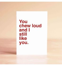 Sad Shop Sad Shop Greeting Card